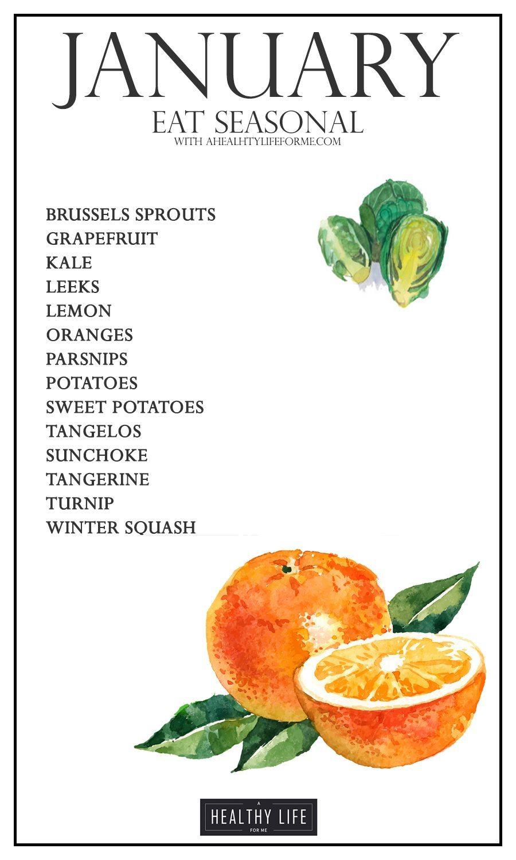 Seasonal Foods: February
