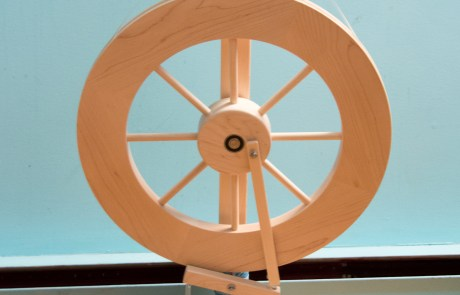 More Spinning and a New Wheel….