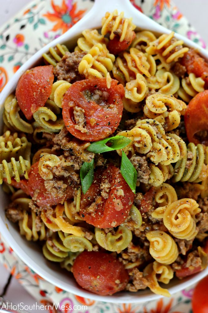 This Skinny Southern Goulash is quick and easy to make on a weeknight ...