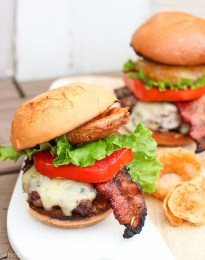 Hubby's jalapeno Pepper Jack Burger | A Hot Southern Mess