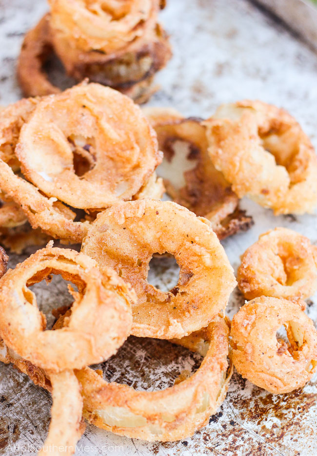 Spicy Onion Rings Recipe