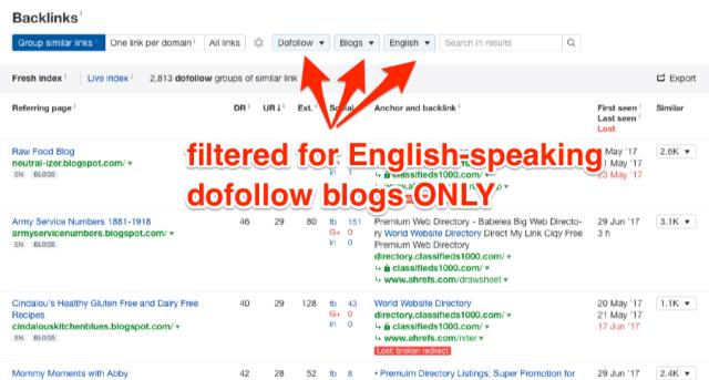 External Backlinks grouped by Similar Links ahrefs com on Ahrefs