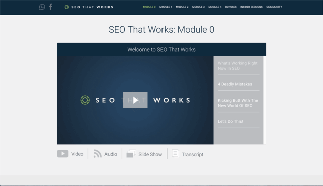 SEO That Works Module 0