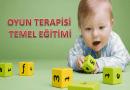 ANTALYA'DA OYUN TERAPİSİ TEMEL EĞİTİMİ