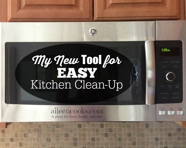 My New Tool for Easy Kitchen Clean-Up