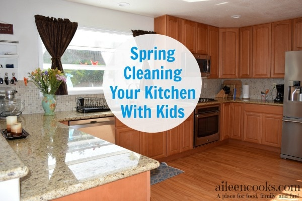 Spring Cleaning Your Kitchen With Kids