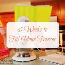 6 Weeks to Fill Your Freezer: Week 1. Lawnmower tacos, freezer friendly banana bread, beef broth + freezer cooking tips from http://aileencooks.com