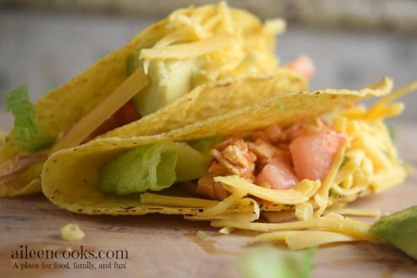 Instant Pot Salsa Chicken Tacos