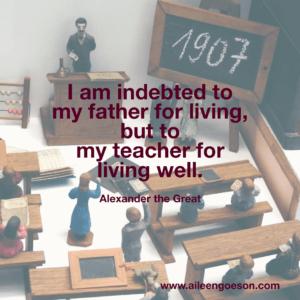 Alexander the Great Teacher Appreciation
