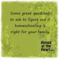 Is Homeschooling Right for Your Family?