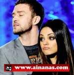 Mila Kunis e Justin Timberlake Apalpam-se na MTV