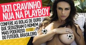Tatiane Cunha Cravinho nua na Playboy (BOLAS DE OURO)