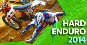 TOP WIPEOUTS no Hard Enduro 2014
