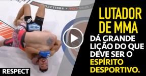 RESPECT: Lutador de MMA tem Melhor Atitude de Sempre!