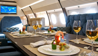 Taking service at 30,000 ft even higher: Our Plating and Presentation Program