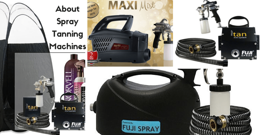 About Spray Tanning Machines