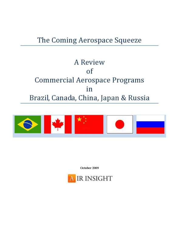 The Coming Aerospace Squeeze
