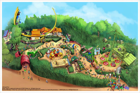 Toystoryland HK 01 Toy Story Land in Hong Kong