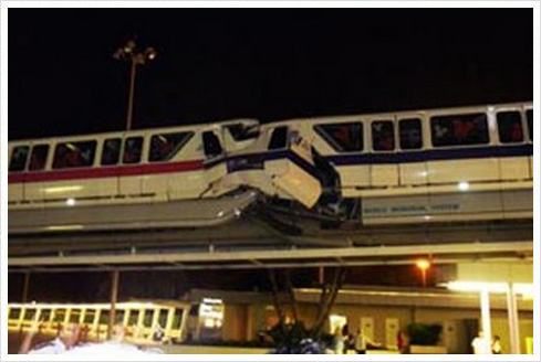 Monorail Crash Monorail Unfall im Walt Disney World Resort