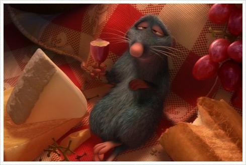 Ratatouille 04 Ratatouille in den Disney Studios?