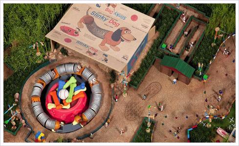 toystoryland 26 Toy Story Playland   Bilder aus der Aktionärs Präsentation