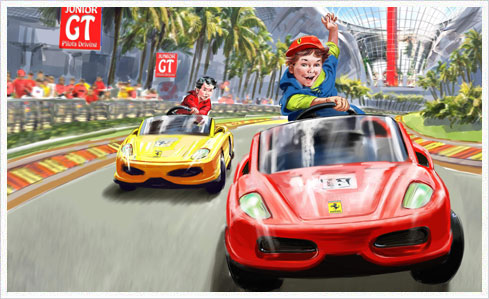 ferrari world 05 juniorgt Neue Bilder und Infos zu vier Attraktionen der Ferrari World