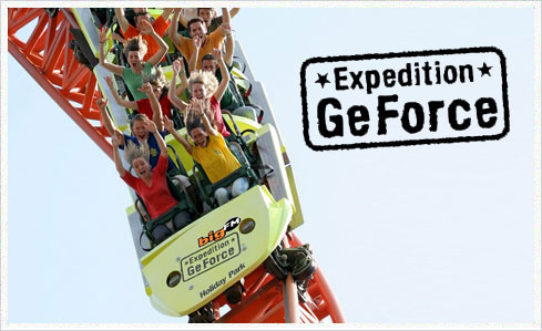 expedition geforce 01 Die Coaster unserer Tour   Teil 1