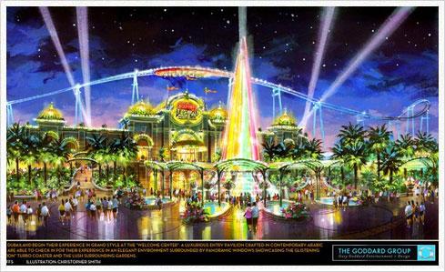 six flags dubailand Six Flags Dubailand – Ein Lebenszeichen aus der Wüste?