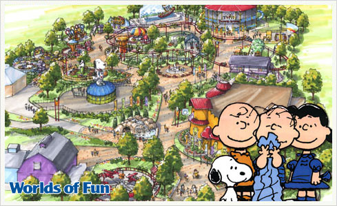 snoopy worlds of fun Planet Snoopy – Die Peanuts erobern die USA!