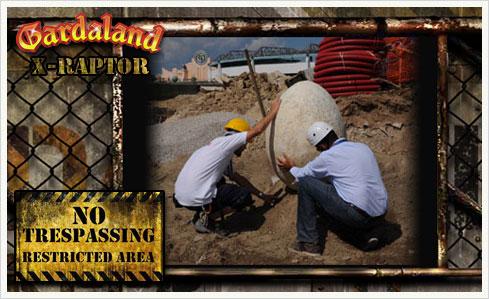 x raptor 05 X Raptor   Bauarbeiter finden prähistorisches Ei