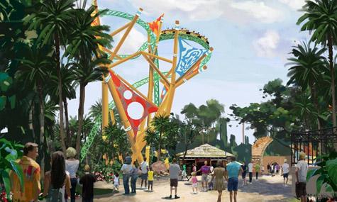 """cheetah hunt 02 Busch Gardens – Alles über die 2011er Achterbahn """"Cheetah Hunt"""""""