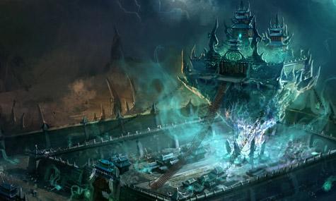 world joyland conceptart 04 World Joyland – Der chinesische Warcraft und Starcraft Freizeitpark