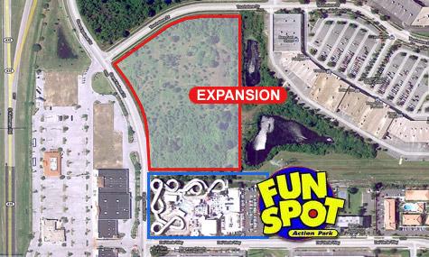 fun spot expansion Fun Spot expandiert und kündigt eine neue  Achterbahn an