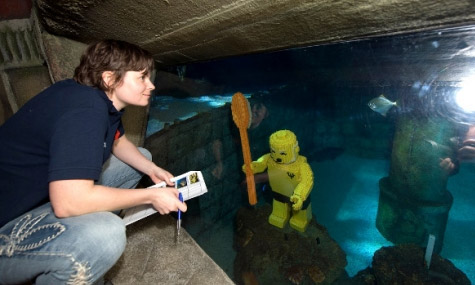 lego atlantis ride 01 Legoland Windsor   Diesen Frühling beginnt die Suche nach Atlantis