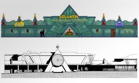 lego atlantis ride artwork Legoland Windsor   Diesen Frühling beginnt die Suche nach Atlantis
