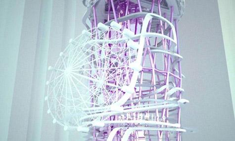 vertikaler freizeitpark 03 New Yorker Architekt plant einen Freizeitpark mitten in Manhatten