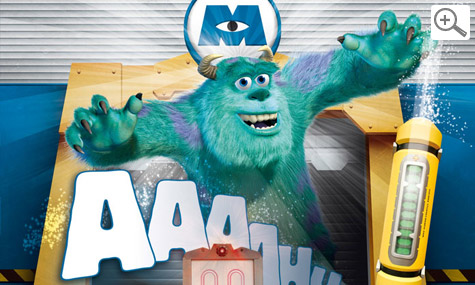 Disneyland Monsters Inc Scream Academy small Magical Moments Festival   Disneyland Paris feiert sich selbst