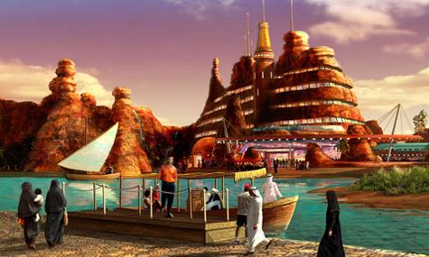 Dubailand Concept Art 01 Dubailand   Nicht tot, sondern nur auf Eis und bis 2025 fertig?