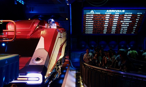 Star Tours 2 Wartebereich Neuheiten Check: Star Tours: The Adventures Continue