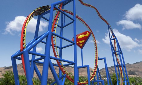Superman Six Flags Discovery Kingdom 2012 Rollercoaster 475x285 Achterbahn Neuheiten 2012