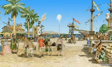 Mallorca Theme Park Club Group Concept Art 01 475x285 Mallorca   Sommer, Sonne, Strand, Sangria und… Achterbahnen?