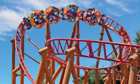 Le Pal Mack Rides Spinning Coaster Twister Toverland zaubert für die Saison 2012 die nächste Achterbahn herbei!