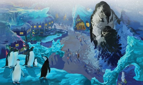 SeaWorld 2013 Empire Of The Penguin SeaWorld Orlando   Erste Details zu den geplanten neuen Attraktionen
