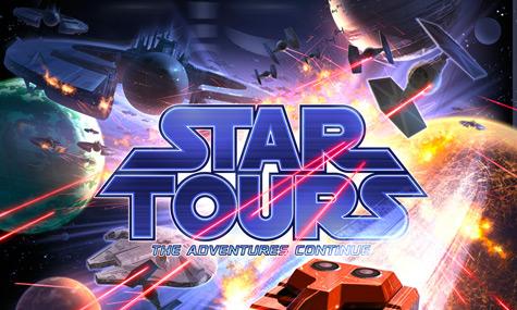 Star Tours 2 Logo Star Tours 2   Das Star Wars Abenteuer geht in Tokyo weiter