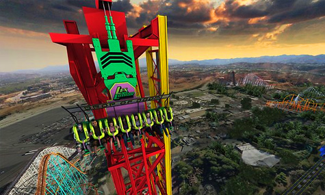 23 Lex Luthor Drop Doom Six Flags Magic Mountain Airtimers Top25 der Freizeitpark Neuheiten 2012 – Platz 25 bis 21