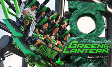 Green Latern Coaster WB Movie World1 Neuheiten Check: Green Lantern Coaster, WB Movie World Australia
