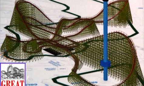 GCI Coaster Great America 3D 475x285 Neue Holzachterbahn für California's Great America geplant