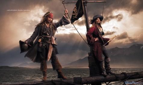 Disney Jack Sparrow Johnny Depp 475x285 Disney Dream Portraits   Wenn Stars zu Disneyfiguren werden...