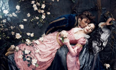 Disney Sleeping Beauty Zac Efron Vanessa Hudgens 475x285 Disney Dream Portraits   Wenn Stars zu Disneyfiguren werden...