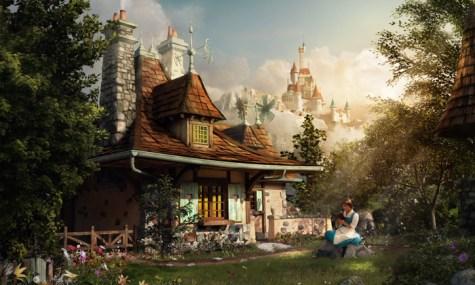 Fantasyland 2 475x285 Magic Kingdom   Neue Artworks der New Fantasyland Erweiterung